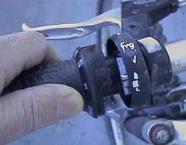 Bike Gear Shifter Repair Grip Shifter While pulling